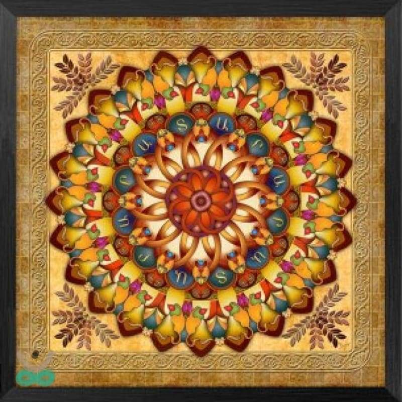 Lienzo mandala flavus - decoration