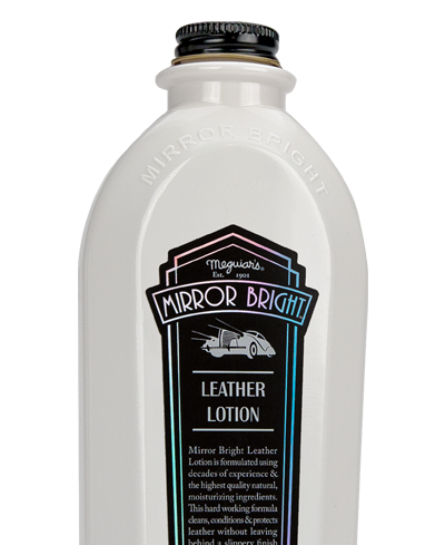 Meguiar's Mirror Bright Leather Lotion