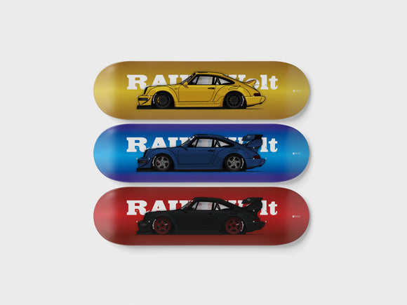 Deckorate Porsche 964 RWB series 1 - 3 Pack Set