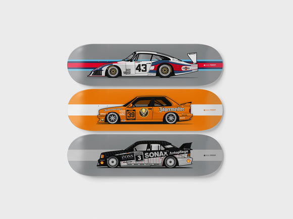 Deckorate Retro Racer - 3 Pack Set