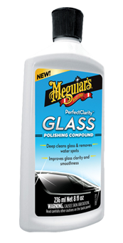 Meguiar's Perfect Clarity Glass Polishing Compound
