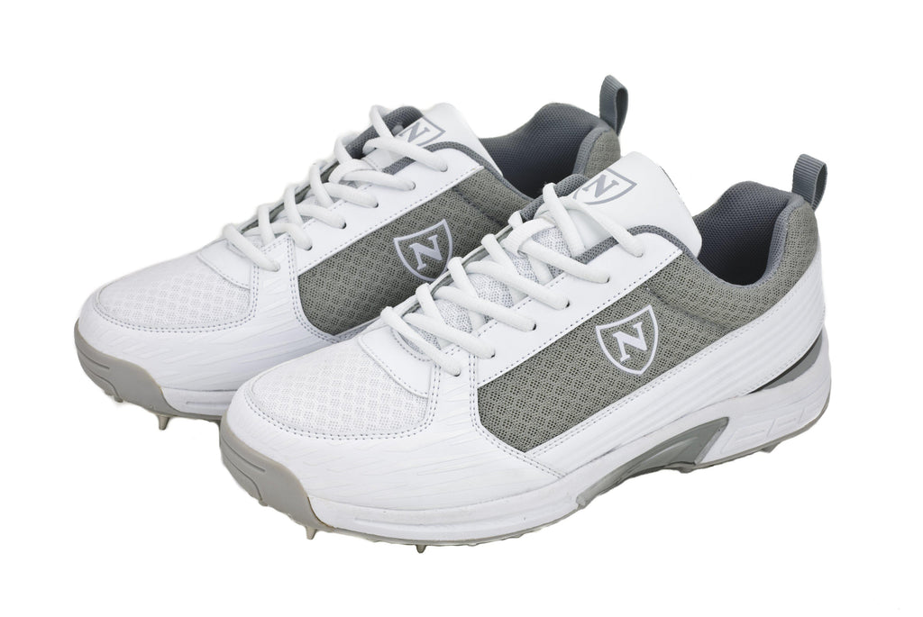 Newbery Performance Spikes Silver - BLITZMODE SPORTS