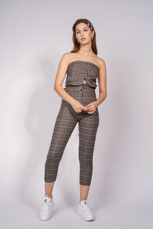 RIA SET - CHECKERED