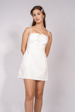 ARY DRESS - WHITE