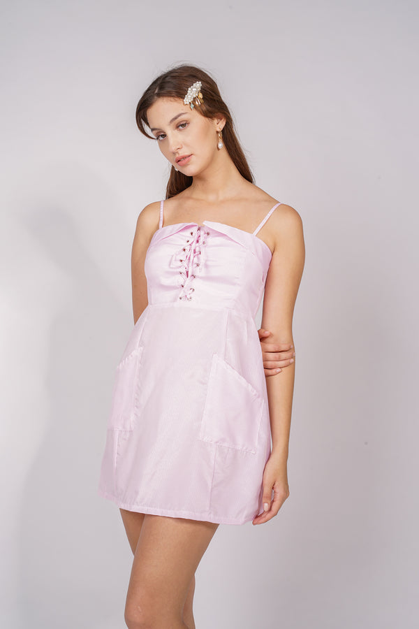 ARY DRESS - PINK