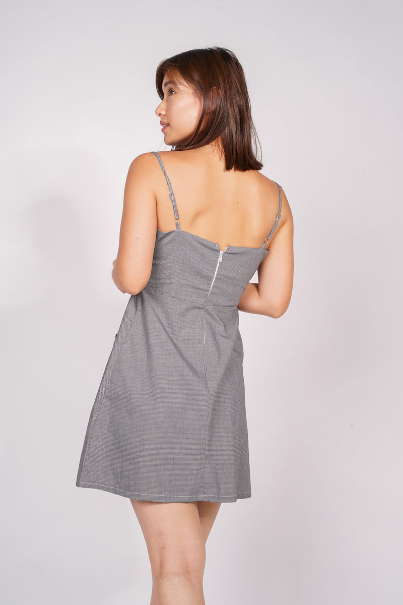 ARY DRESS - GRAY