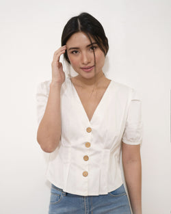 AURORA TOP - WHITE