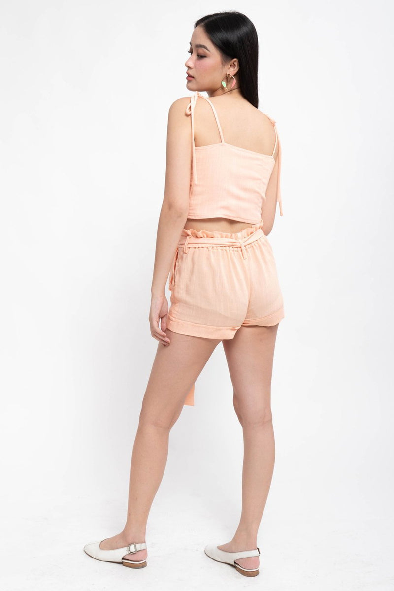 GIANA CO-ORDS REVERSIBLE TOP - PINK
