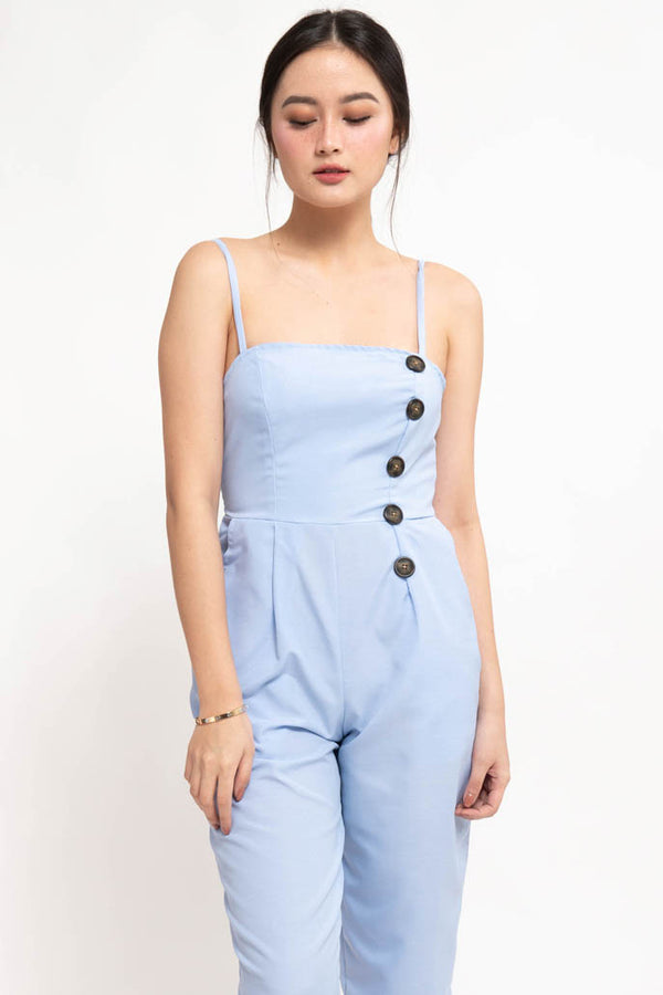 YANA JUMPSUIT - BLUE
