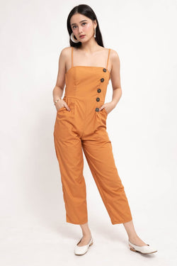 YANA JUMPSUIT - RUST