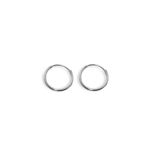 Pendientes HOOPY (10 mm) | Blacklady Jewels