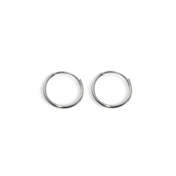 Pendientes HOOPED (15 mm) | Blacklady Jewels