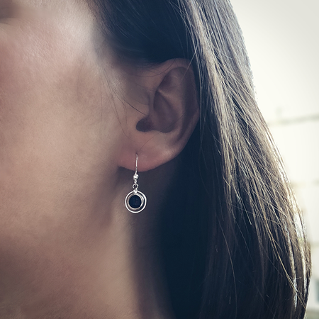 Pendientes GRAND IRIS | Blacklady Jewels