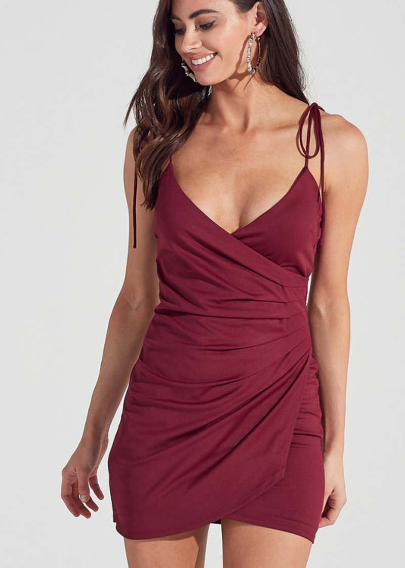 The Mixed Tape Dress ★ Burgundy
