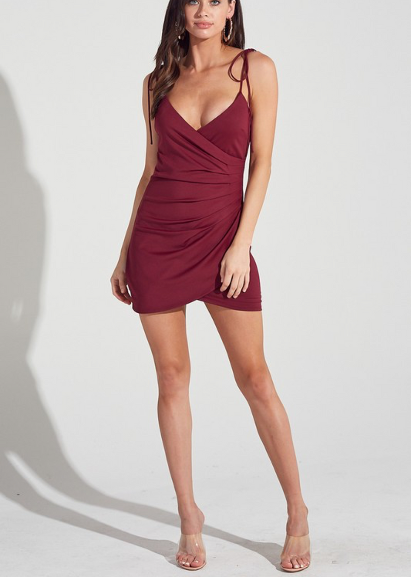The Mixed Tape Dress ★ Burgundy - Rock N Rags
