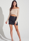 The Weekend Skirt ★ Black