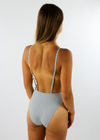 Baywatch Plunge One Piece ★ Grey - Rock N Rags
