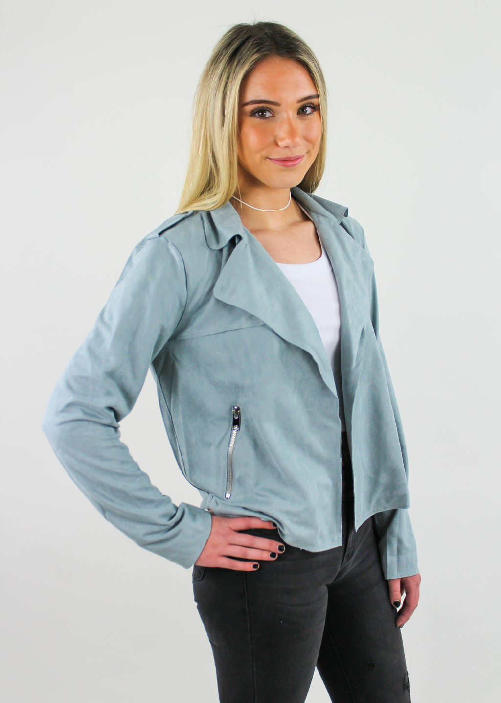 Radio Gaga Jacket ★ Teal - Rock N Rags