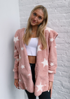 Fuzzy Star Jacket ★ Peach