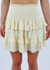 One More Saturday Night Skirt ★ Butter Yellow - Rock N Rags