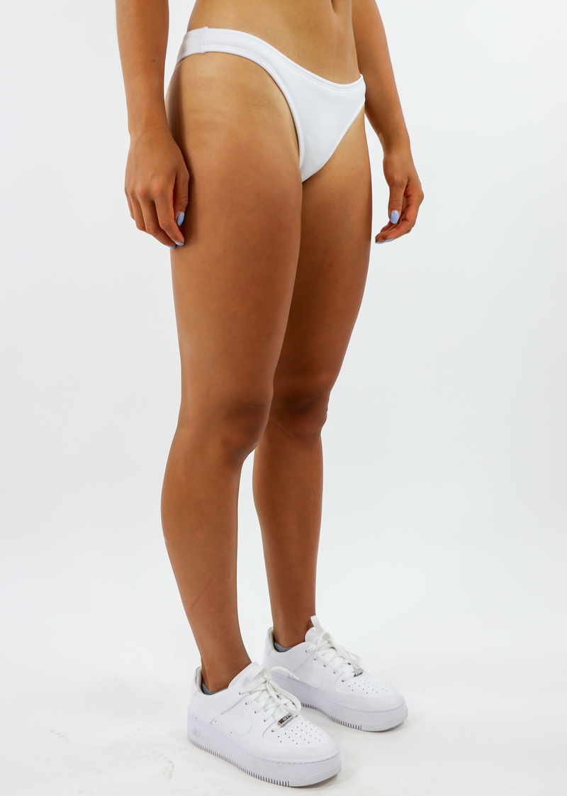 Better Days Bikini Bottom ★ White - Rock N Rags