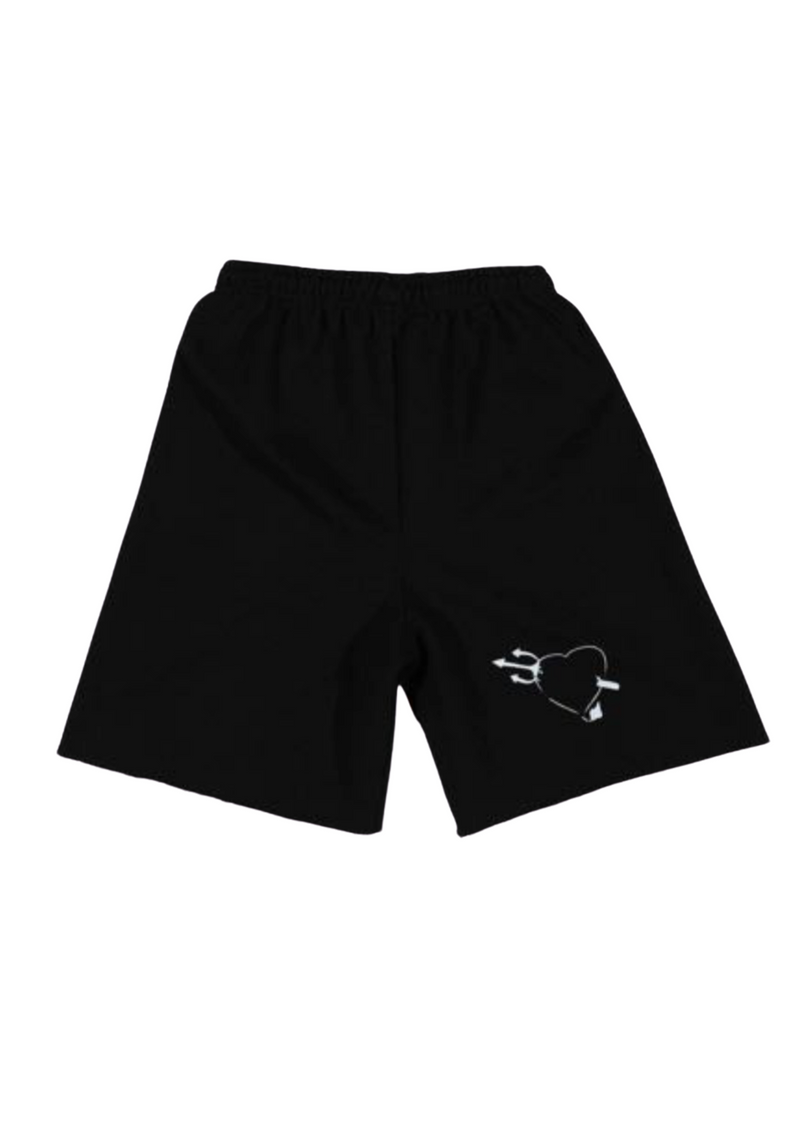 Boys Lie Read Me Shorts ★ Black