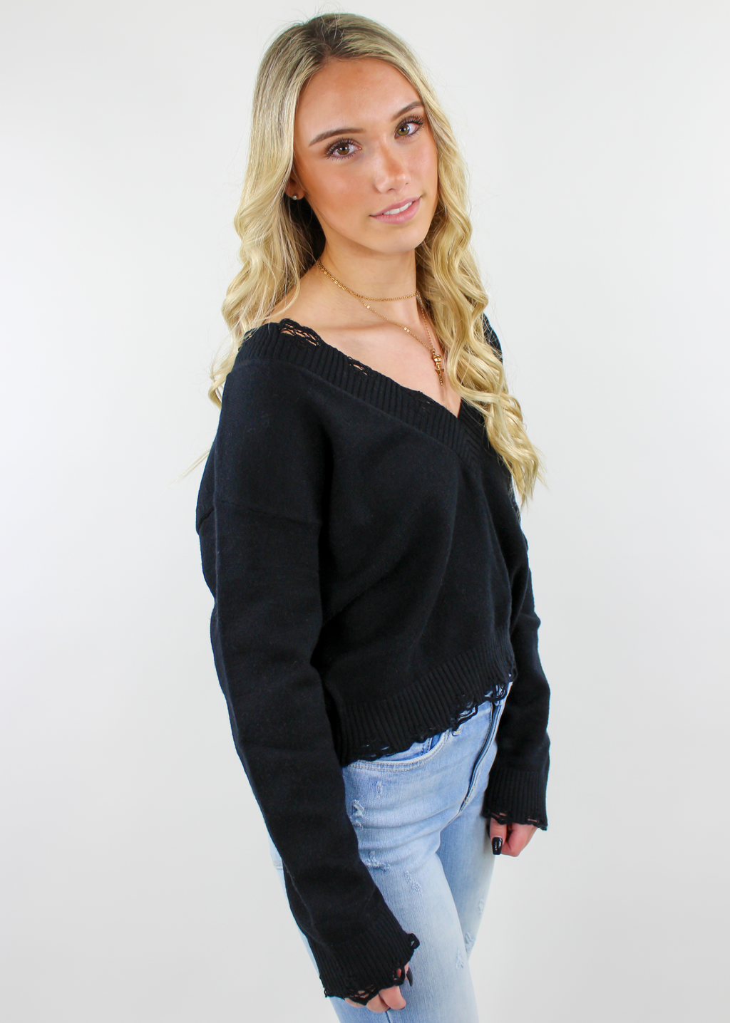 The Sweet Life Sweater ★ Black - Rock N Rags