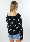 The Sweet Life Sweater ★ Black With Stars - Rock N Rags