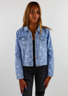 Star Girl Jean Jacket ★ Light Wash