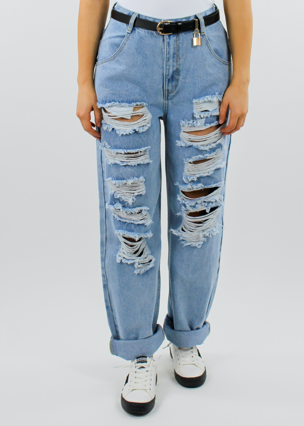 Tear It Up Jeans ★ Light Denim - Rock N Rags