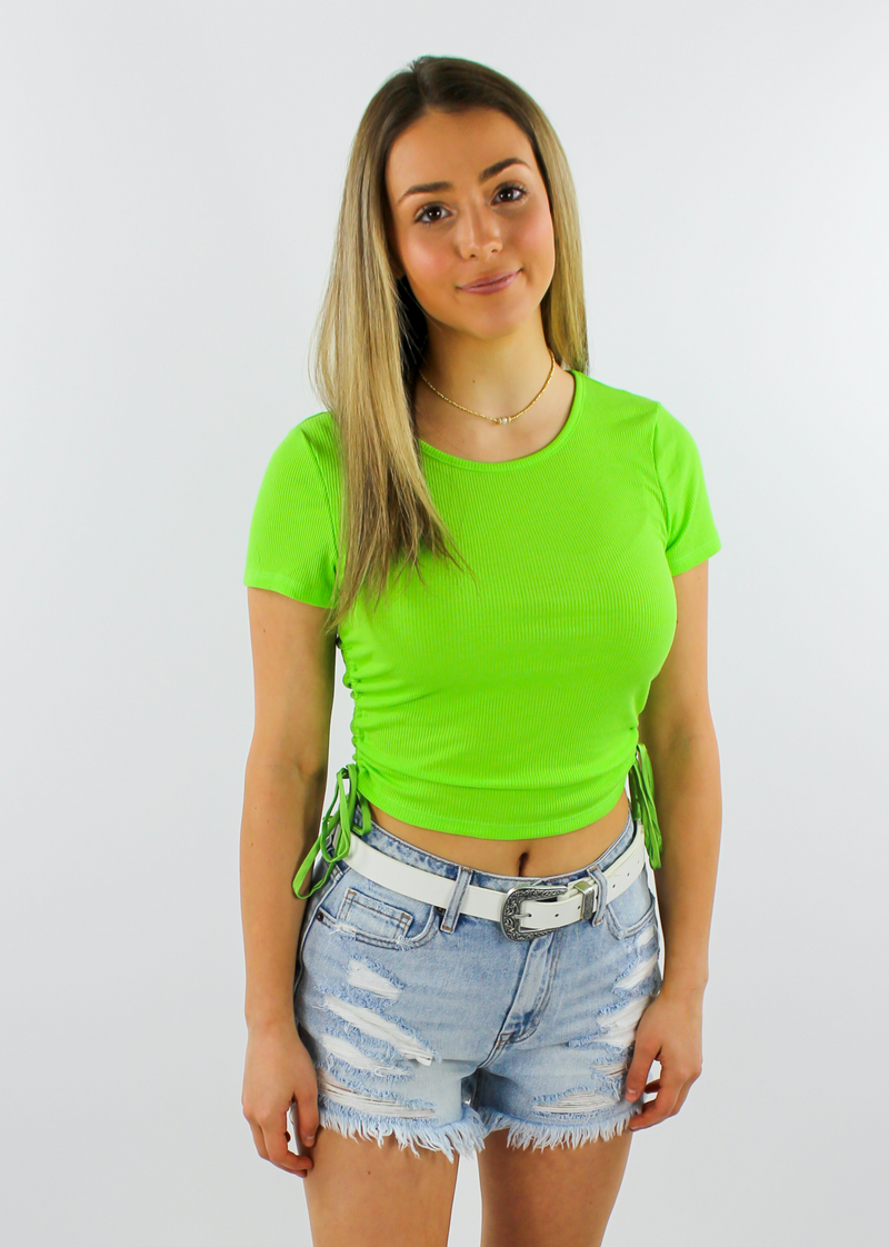 After Party Top ★ Lime Green - Rock N Rags