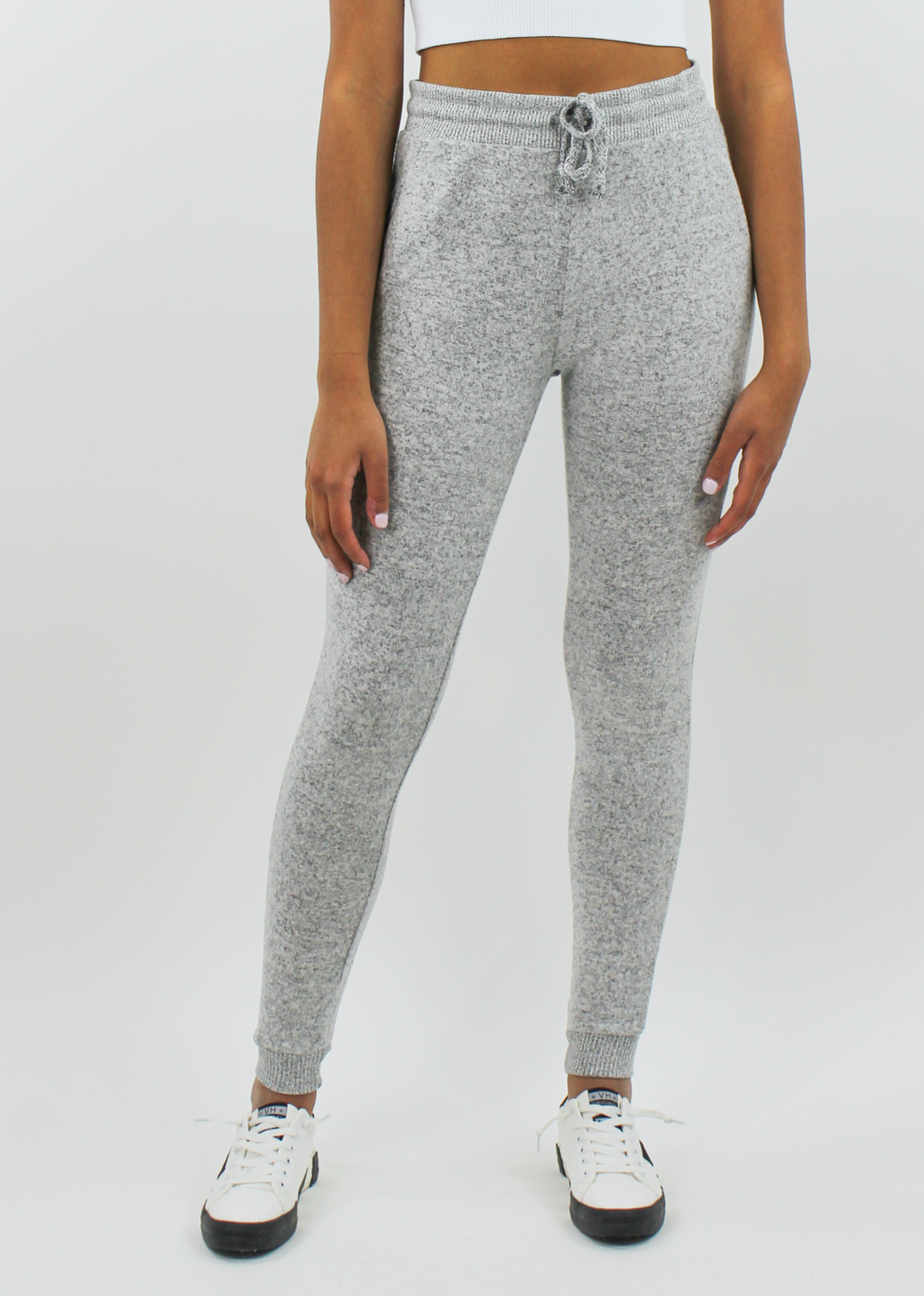 Just The Way You Are Jogger ★ Grey - Rock N Rags