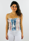 La Vida Loca Top ★ Candy Stripe - Rock N Rags