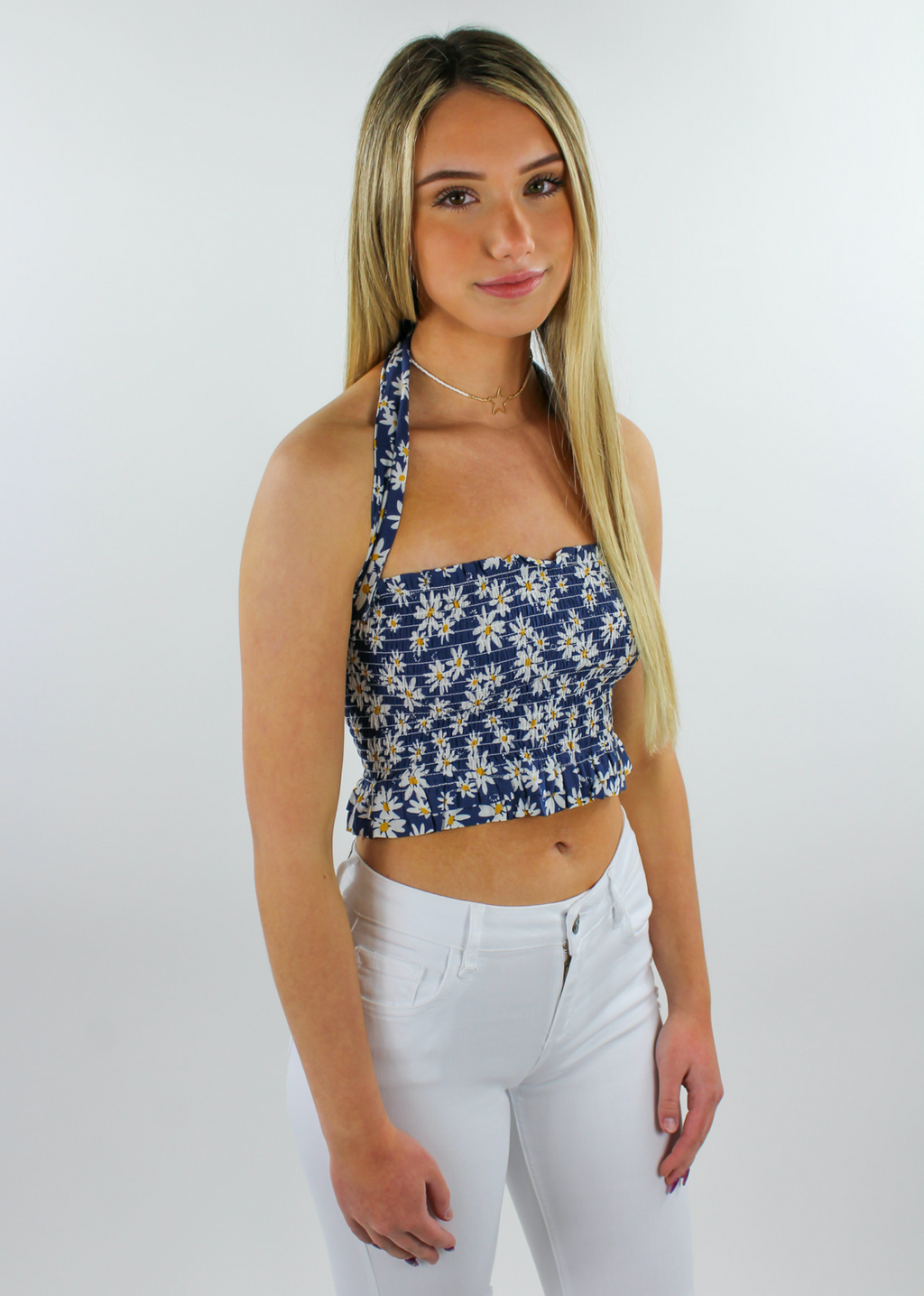 Soak Up The Sun Top ★ Navy - Rock N Rags