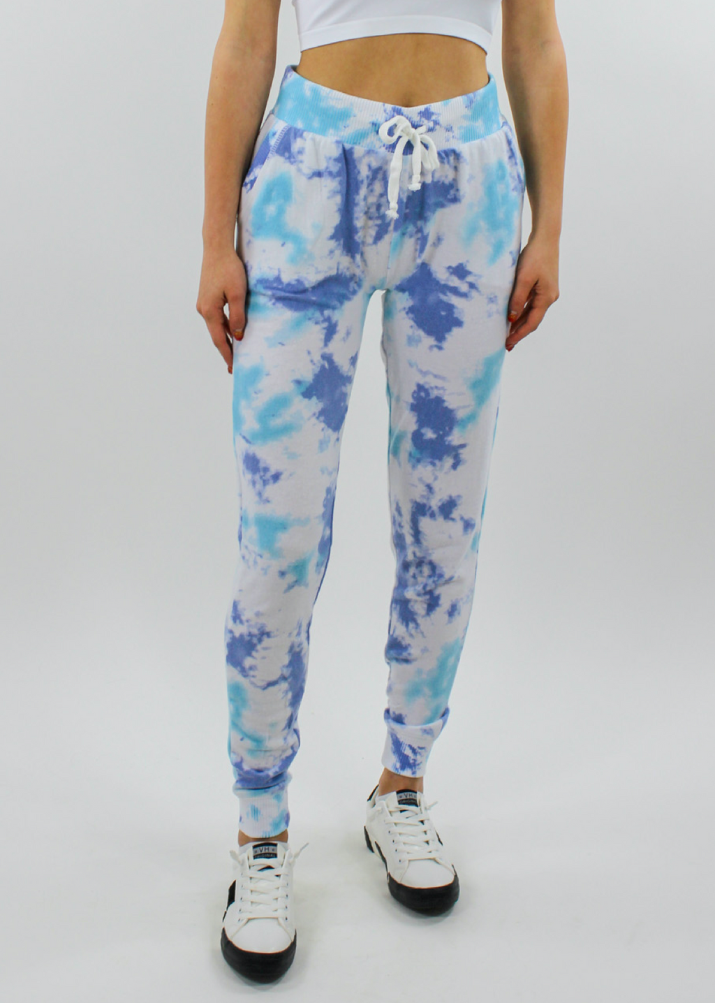 Don't Kill My Vibe Joggers ★ Tie Dye - Rock N Rags