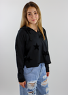 Thermal Star Hoodie ★ Black Velvet
