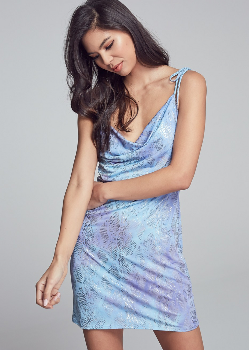 Firefly Mini Dress ★ Blue Purple