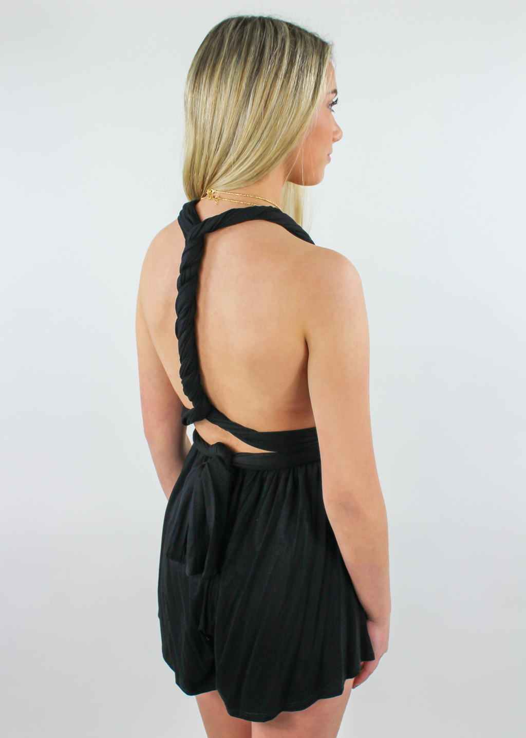 Won't Back Down Romper ★ Black - Rock N Rags