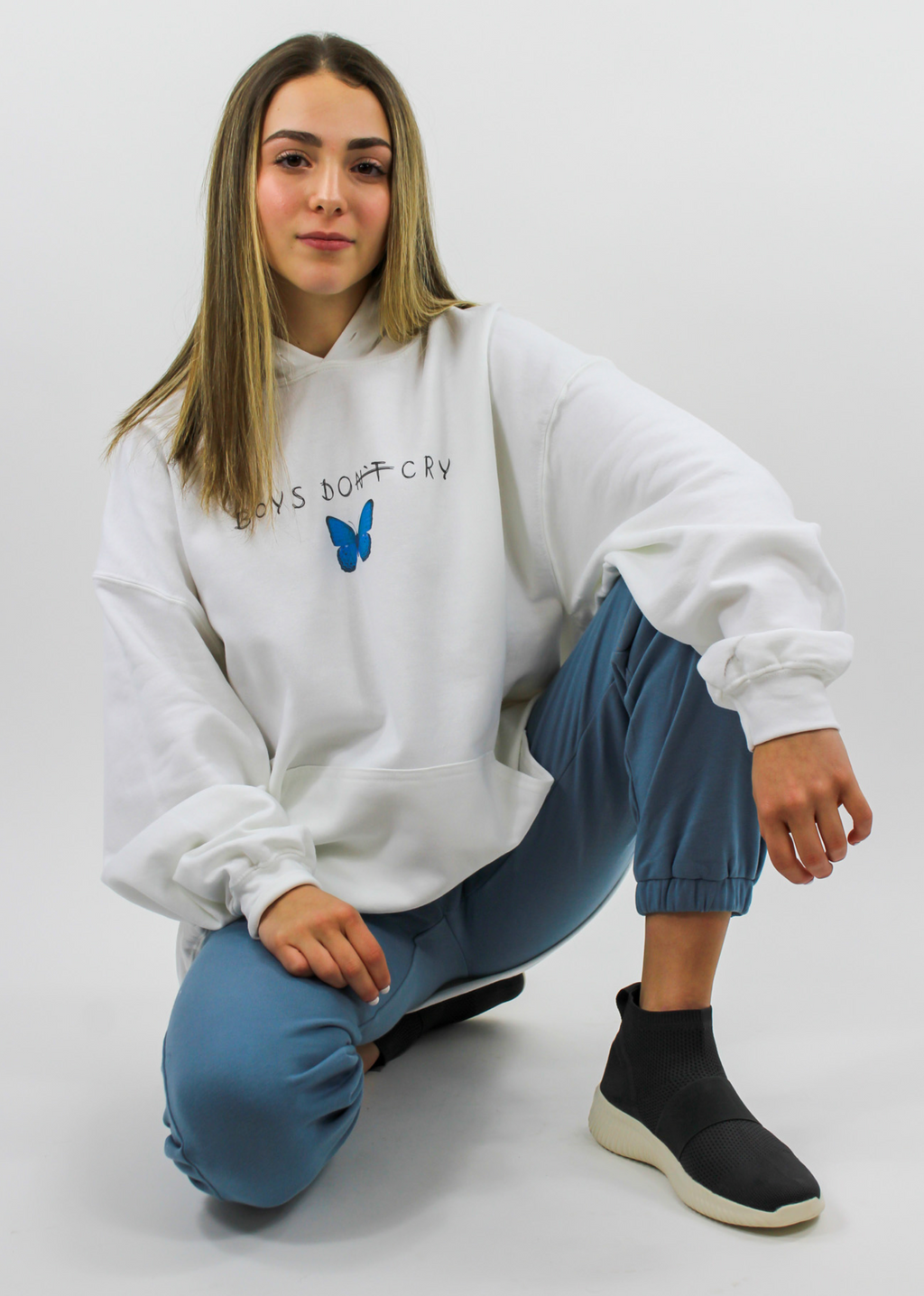 "Boys Lie ""Boys Do Cry"" Hoodie"