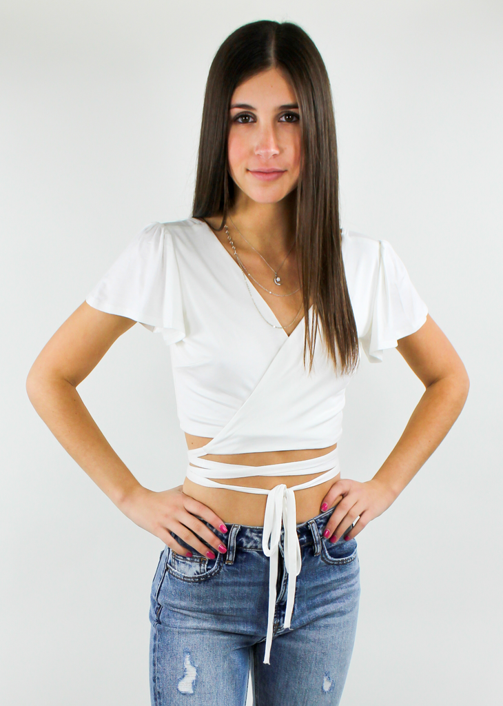 Freedom Crop Top ★ White
