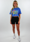Hollywood Graphic Crop Tee ★ Blue
