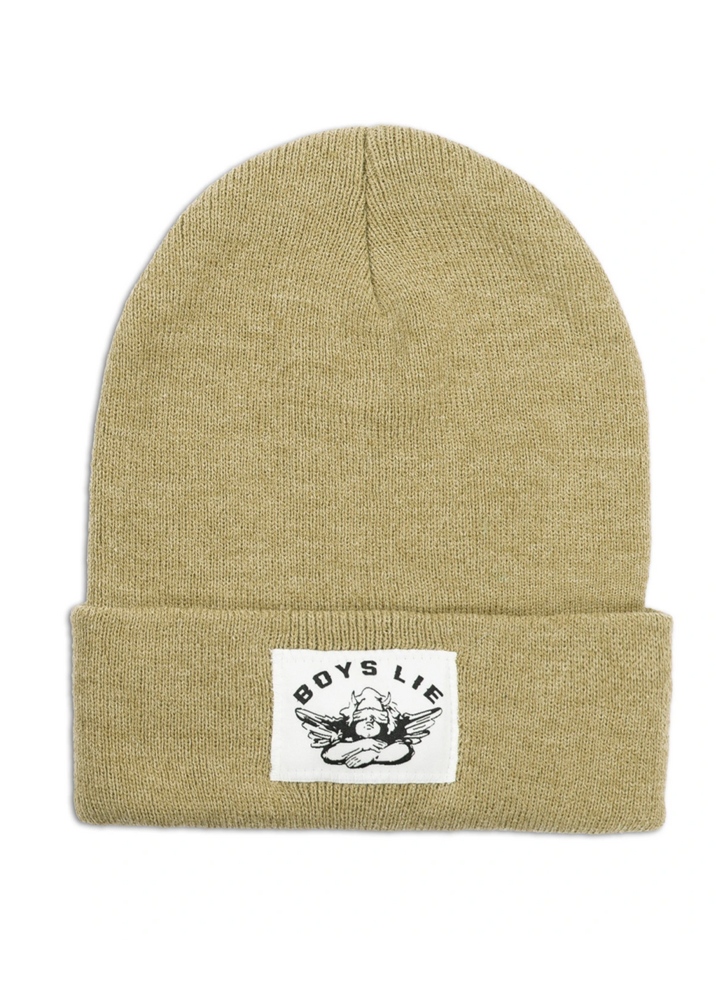 Boys Lie Beanie ★ Camel - Rock N Rags