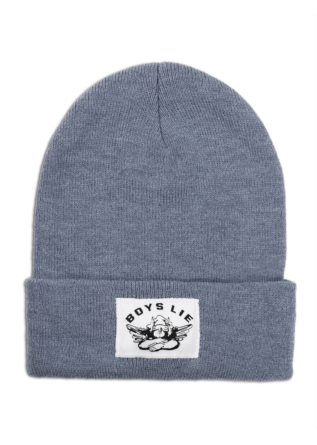 Boys Lie Beanie ★ Heather Navy - Rock N Rags