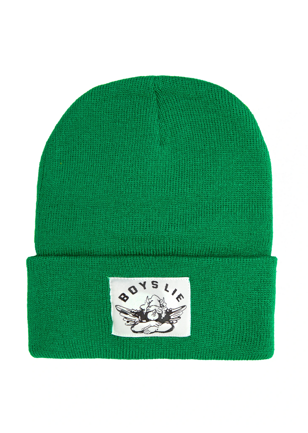 Boys Lie Beanie ★ Kelly Green - Rock N Rags