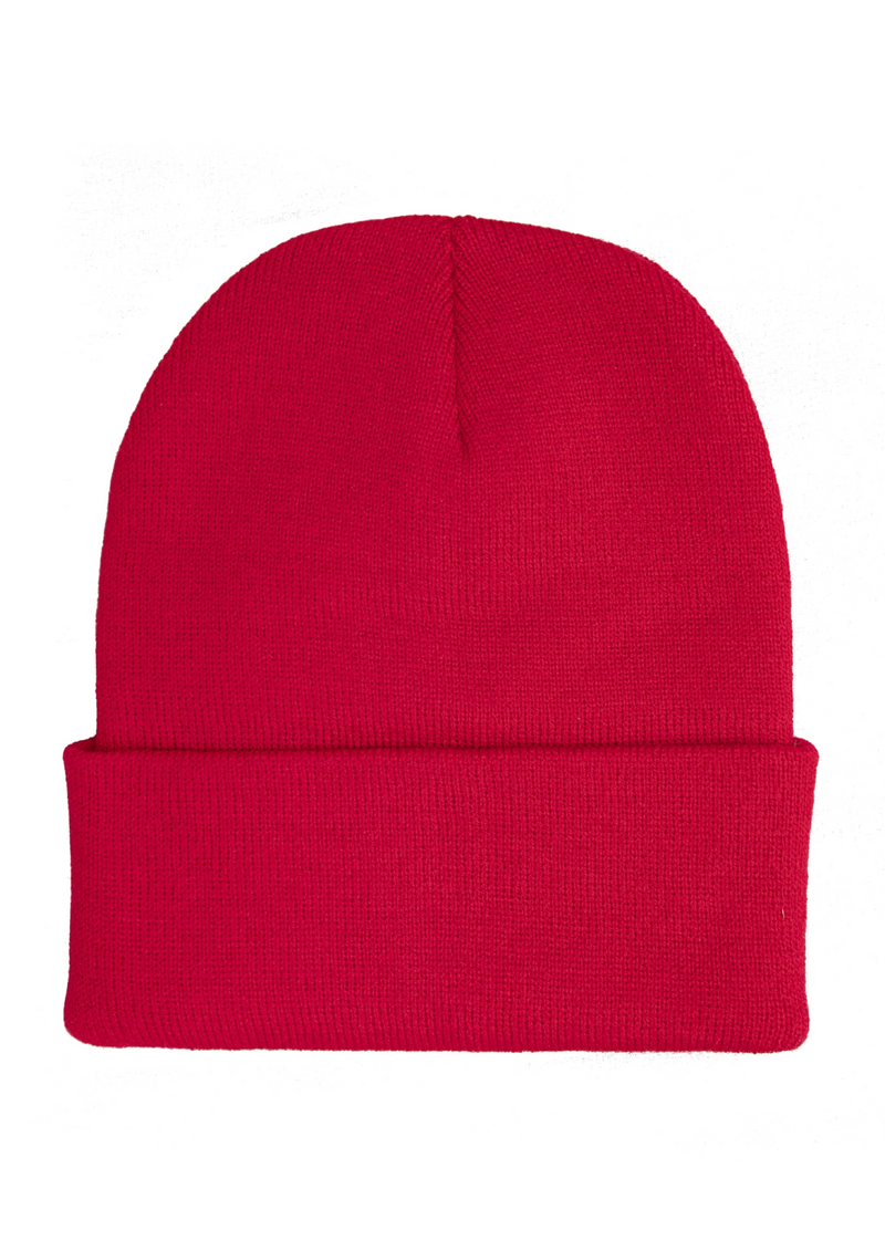 Boys Lie Beanie ★ Red - Rock N Rags