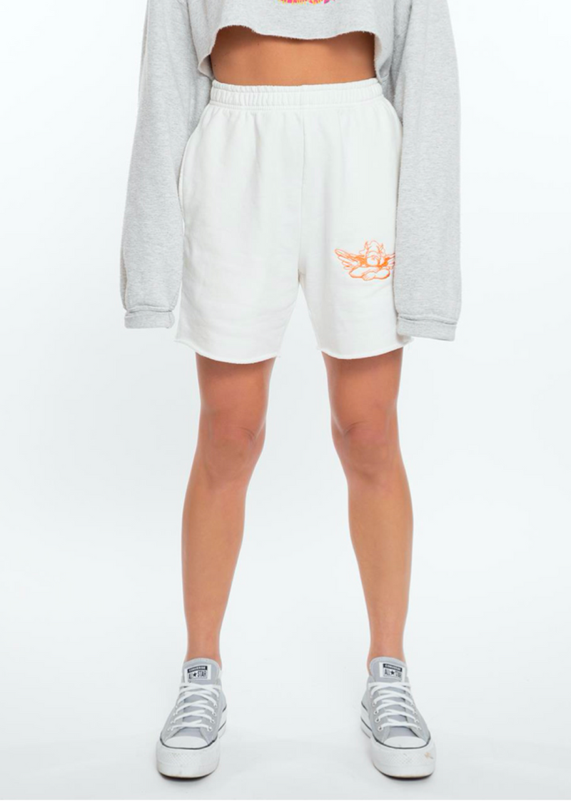 Boys Lie Classics V2 Shorts ★ White - Rock N Rags