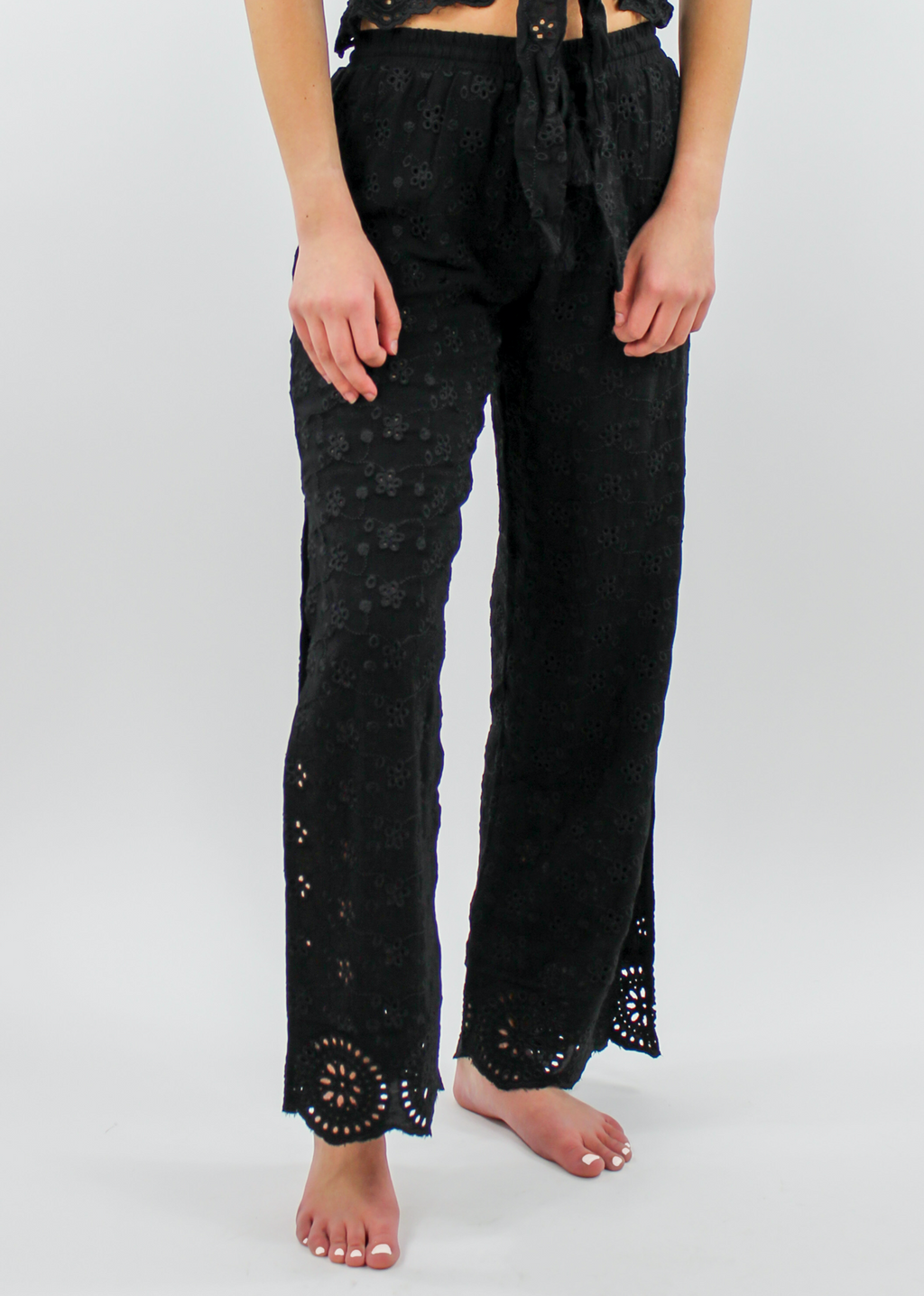 Free Bird Pants ★ Black - Rock N Rags
