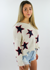 American Pie Star Sweater ★ Cream