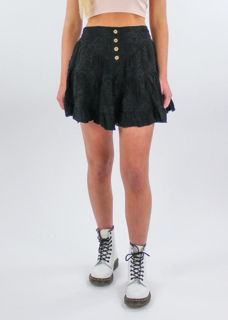 Swing Life Away Skirt ★ Black - Rock N Rags