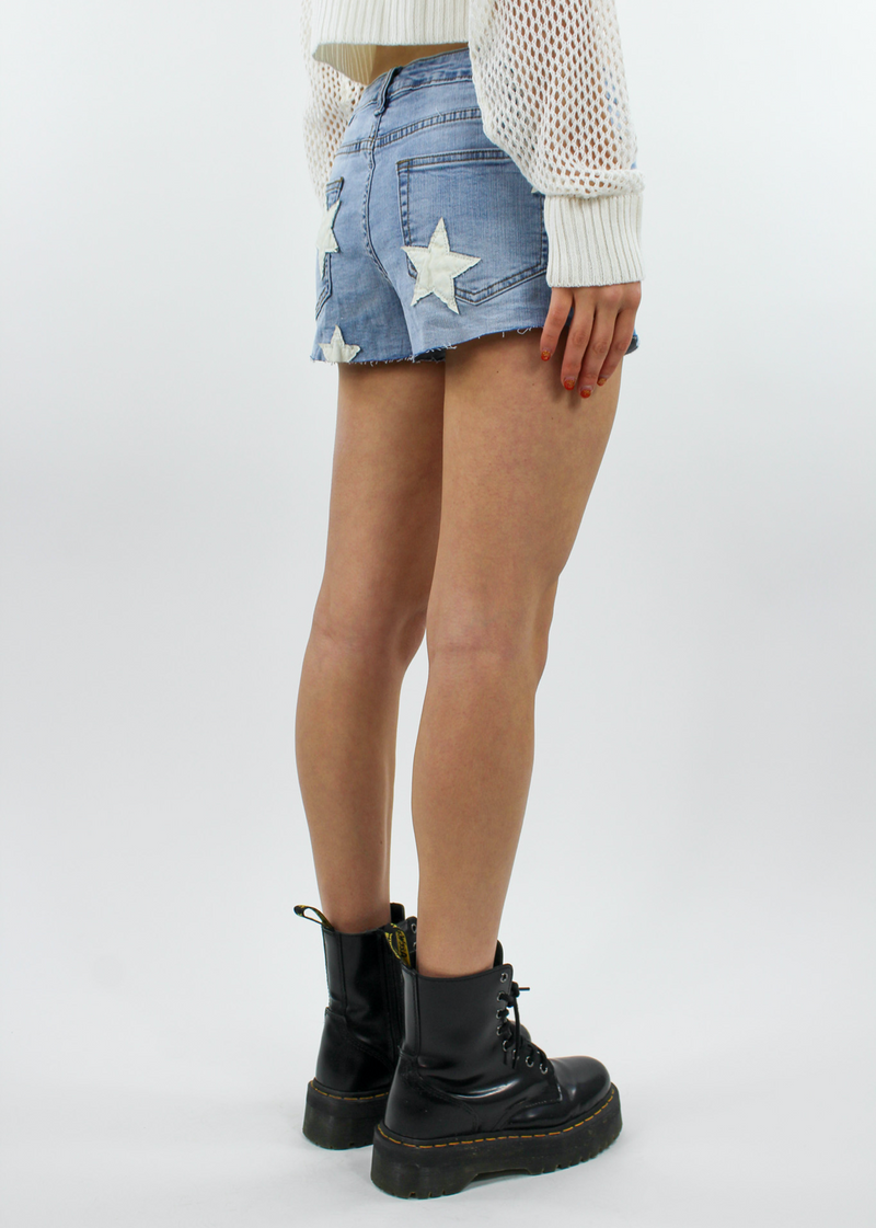 Only Rock N Roll Shorts ★ Medium Wash Denim - Rock N Rags